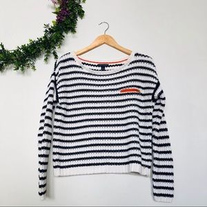 Tommy Hilfiger Knitted Stripped Sweater Size M